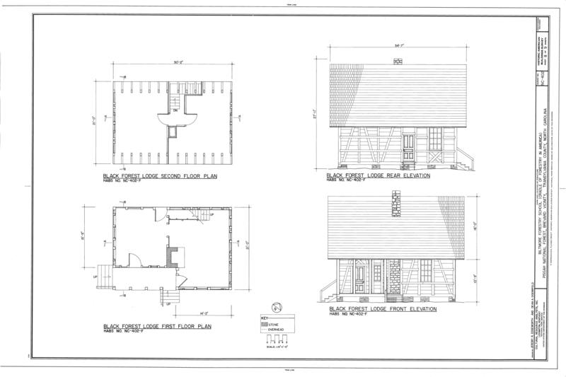 File:Biltmore Forestry School, Brevard, Transylvania County, NC HABS NC-402 (sheet 8 of 9).png