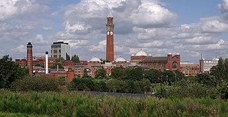 Clock tower - Old Joe in Birmingham, UK - the tallest freestanding clock tower in the world