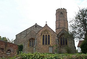 Church of St Peter and St Paul, Bishop's Hull - Image: Bishops Hull Church geograph.org.uk 165493