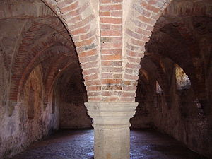 Undercroft - The Undercroft at Blakeney Guildhall in Norfolk.