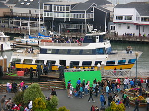 Blue & Gold Fleet - The ferry Oski at Pier 39 in October 2009.