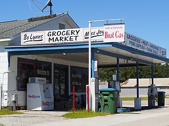 National Register of Historic Places listings in Wakulla County, Florida - Image: Bo Lynns Grockery
