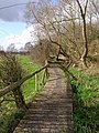 Boardwalk on the Test Way, Nursling - geograph.org.uk - 344589.jpg