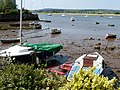 Boats moored by the River Exe - geograph.org.uk - 1309104.jpg