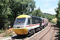 Bodmin Parkway - GWR 43185 rear of London service.JPG
