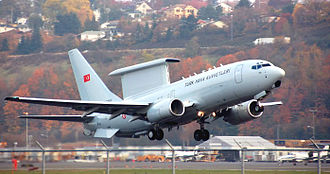 Turkish Air Force - Boeing 737 AEW&C Peace Eagle