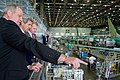Boeing Co. Officials Show Secretary Kerry 737 Assembly Line Following Trade Speech at Plant in Washington (17685396230).jpg
