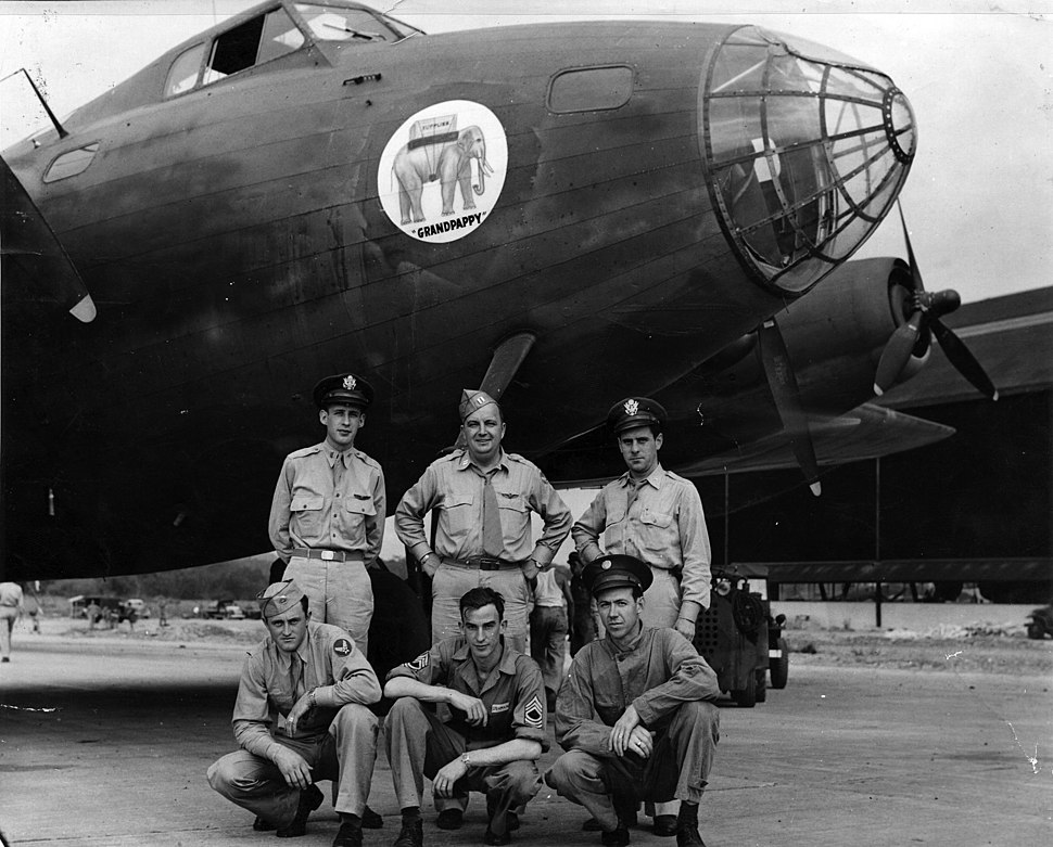 Boeing XC-105 Grandpappy and crew in Panama 1943 090430-F-1234S-004