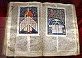 Bologna, gregorio IX, decretales con commento di bernardo da parma, e testi di innocenzo IV e gregorio X, 1290 ca., 01.jpg
