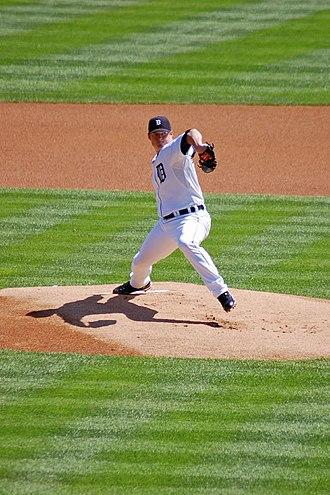 Jeremy Bonderman - Bonderman with the Detroit Tigers