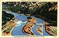 Bonneville Dam, Columbia River, Train Window Views, Spokane, Portland & Seattle Railway (NBY 431018).jpg
