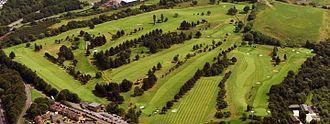 Bonnybridge - An aerial view of Bonnybridge Golf Club