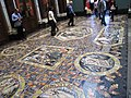 Boris Anrep mosaic, The National Gallery - upper landing.jpg