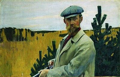 Boris Kustodiev self-portrait.jpeg