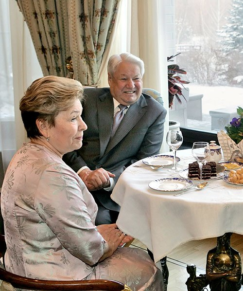 Boris Yeltsin 1 February 2006