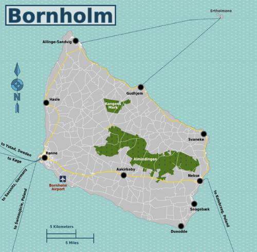 Hur Tar Man Sig Till Bornholm