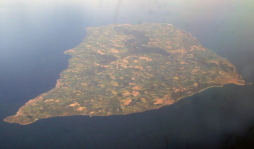 Bornholm luftaufnahme