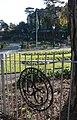 Boscombe Chine Gardens, ironwork motif - geograph.org.uk - 619613.jpg