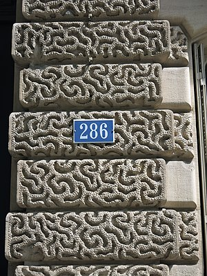 Vermiculation - Architectural vermiculation in Paris
