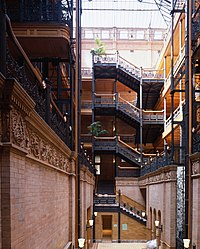 Bradbury Building - Wikipedia, the free encyclopedia