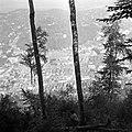 Brassó, látkép a Cenk hegyről. - Fortepan 13752.jpg