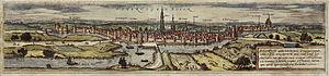Siege of 's-Hertogenbosch (1601) - Image: Braun s Hertogenbosch HAAB