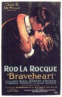 <i>Braveheart</i> (1925 film) 1925 film by Alan Hale