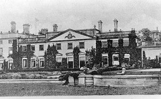 Wilfrid Lawson (MP for Cockermouth) - Brayton Hall in 1900