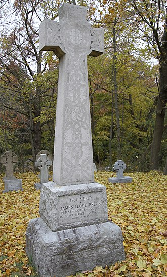James Lloyd Breck - Breck's grave at Nashotah House