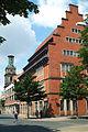 Breite Straße 10 Hannover Grotehaus mit Treppengiebel gesehen von der Ecke Georgswall.jpg