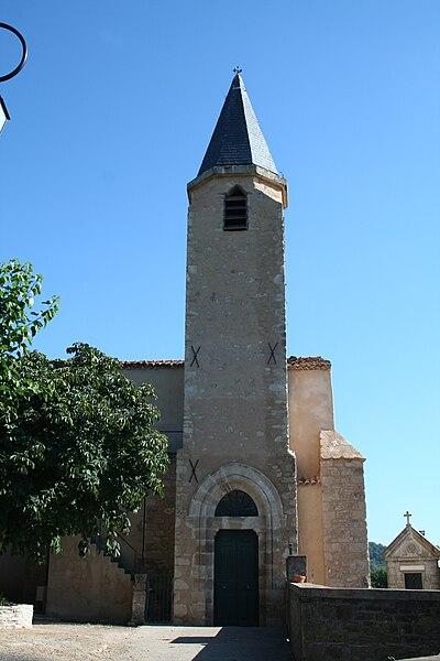 Brenas (Hérault) - église de l'Assomption-de-Notre-Dame de Brenas