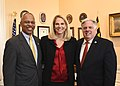 Brenda Frese with Gov. Hogan and Lt. Gov. Rutherford.jpg