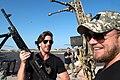 Brett James and Kyle Jacobs, Camp Lemonnier, Djibouti 2015.jpg