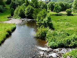 Brezons riv et ruisseau Montréal Brezons pont D57 aval.jpg