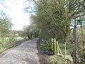 Bridleway crosses Covet Lane - geograph.org.uk - 1779241.jpg