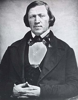 Utah War - Governor Brigham Young was appointed to office by President Millard Fillmore in 1850.