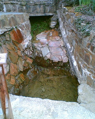 Holy well - St Brigid's Well, near Buttevant, County Cork, Ireland