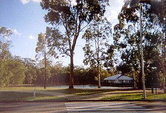 Brisbane Entertainment Centre - The grounds of the Brisbane Entertainment Centre