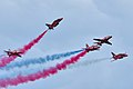 "British Aerospace (BAe) Hawk T.Mk1 Royal Air Force ""Red Arrows"" (9704194414).jpg"
