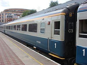 Cargo-D - Mark 3 at Marylebone in September 2008