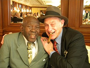 Bert Sugar - Bert Sugar (right) with former world middleweight champion Emile Griffith in January 2010