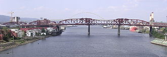Broadway Bridge (Portland) - Image: Broadway Bridge