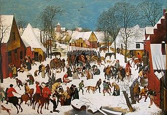 Massacre of the Innocents (Bruegel) - Image: Bruegel the Elder Massacre of the Innocents