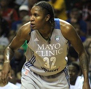 Minnesota Lynx - Rebekkah Brunson has won 5 WNBA championships.