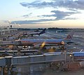 Brussels airport terminal b early morning 02.JPG
