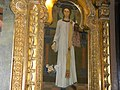 Bucuresti, Romania. BISERICA RUSA-Biserica Sf. Nicolae (B-II-m-A-18814) (tablou maiestrit executat)(4).jpg