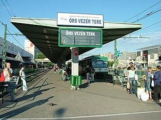 Budapesti Közlekedési Zrt. - Terminus of Gödöllő commuter railway
