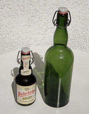 Flip-top - Examples of flip-top bottles