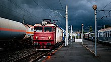 Buftea train station, Summer Storm Delays (153452901).jpg