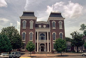 Union Springs, Alabama - Image: Bullock County Courthouse